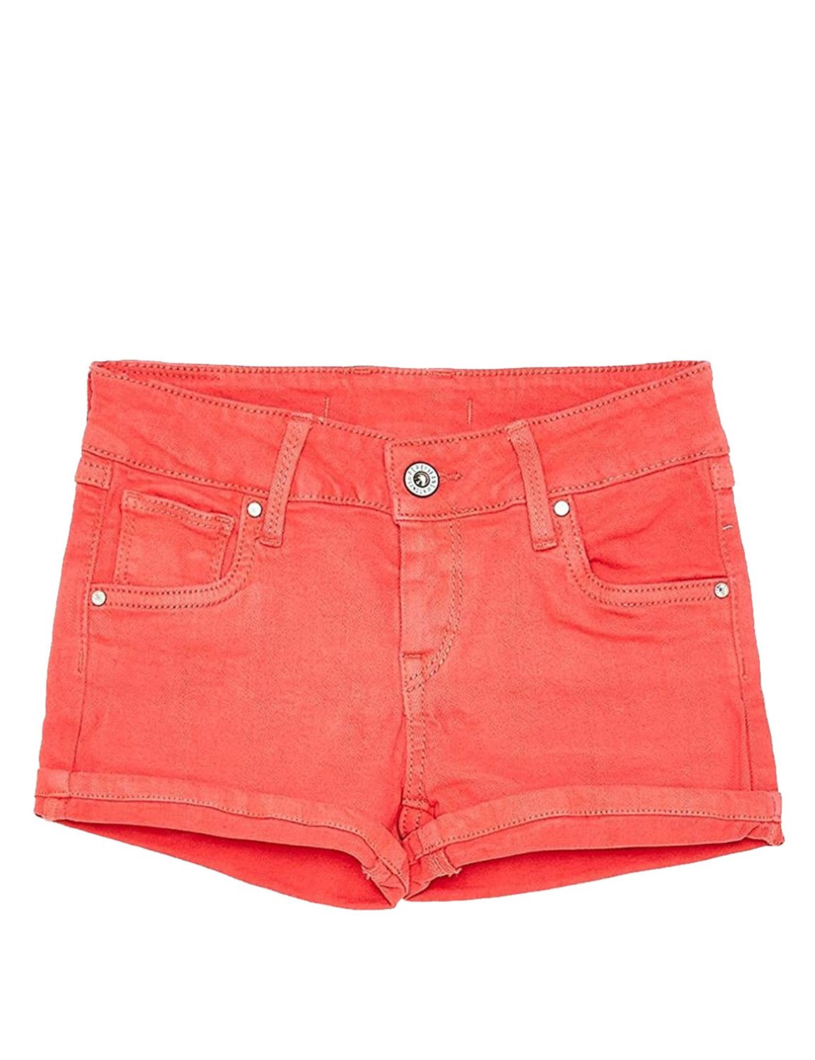Pepe Jeans Tail Girl's Shorts in Red in Size 8 Years Red