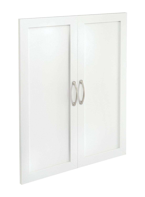 ClosetMaid 4875 SuiteSymphony 25-Inch Door Pair, Pure White