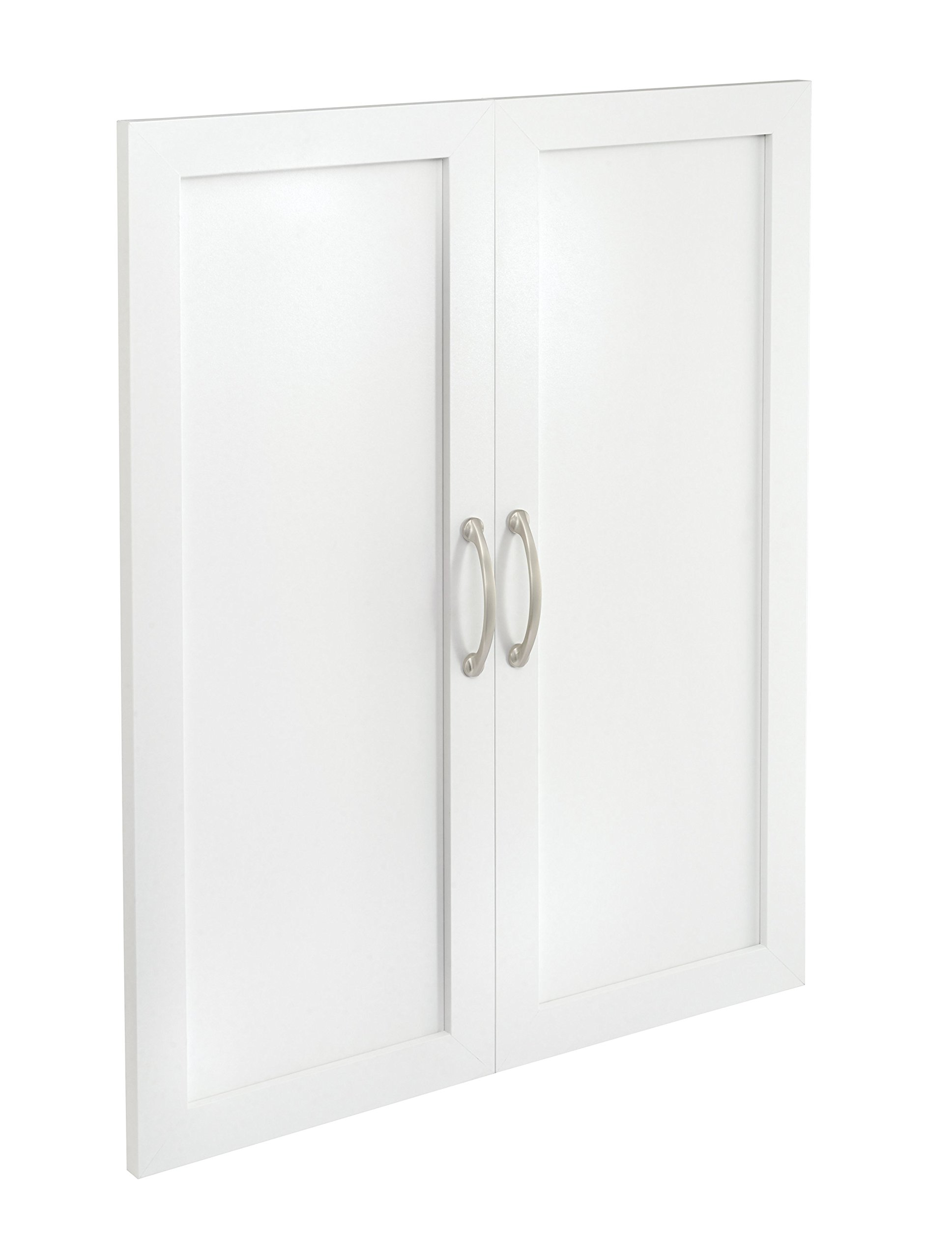 ClosetMaid 4875 SuiteSymphony 25-Inch Door Pair, Pure White