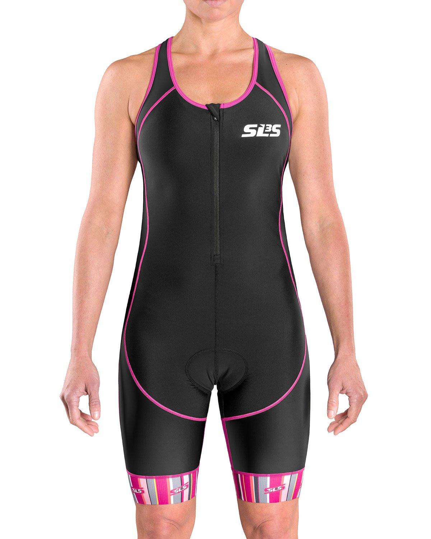 SLS3 Triathlon Einteiler Damen | FX Trisuit | Frauen Anzug | Womens Trisuit | Front Reißverschluss | Frauen Tri Suit