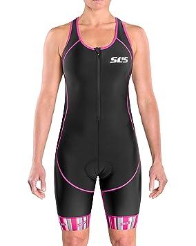 Alemán para y de SLS3 antifricción es libre Costuras Tri Traje Deportes Amazon Bolsillo FX 1 Suit aire Diseño Mujer triatlón xIYTYOwq