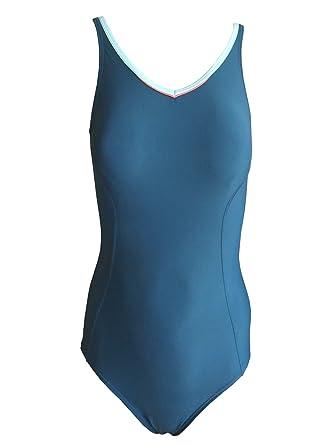 Speedo Schwimmanzug Badeanzug blau, Gr. 44  Amazon.de  Bekleidung 6298616e86
