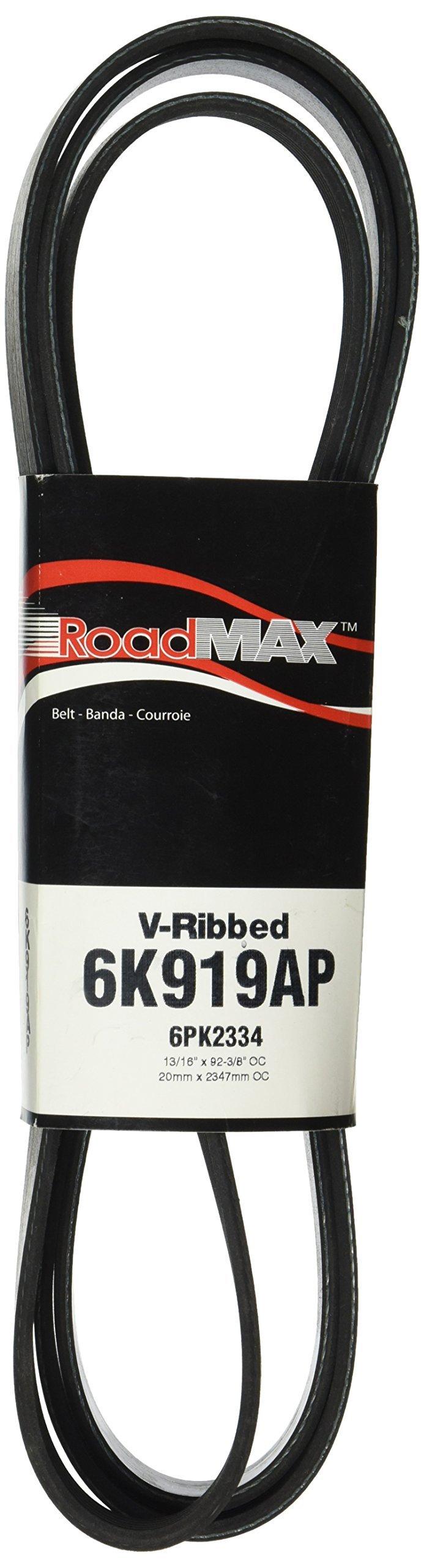Roadmax 6K919AP Serpentine Belt