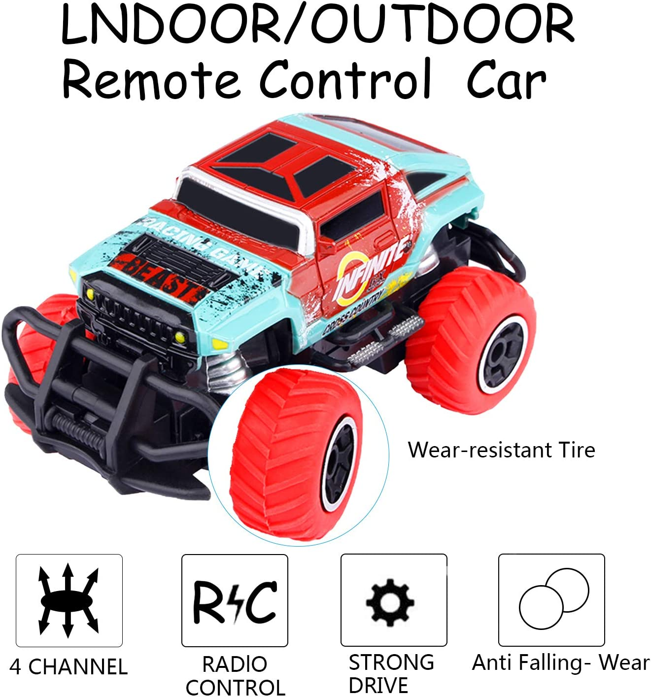 Remote Control Car Toy Auto Redirection 5 Models Pickup Jeep Cruiser Benz Hummer Off-Road RC Car Best Birthday Gift for 3-12 Years Old Kids Best Present for children to play with their friends