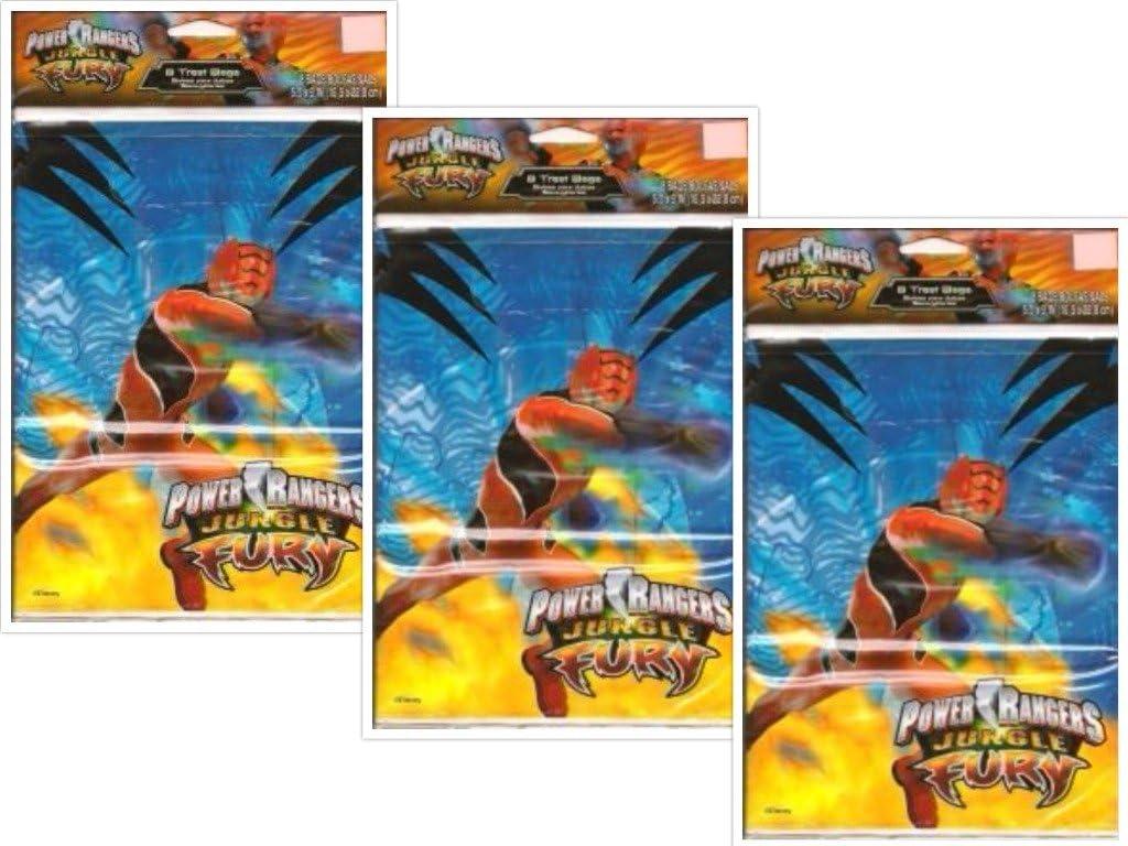 Amazon Com Power Ranger Jungle Fury Treat Bags 24 Count Toys