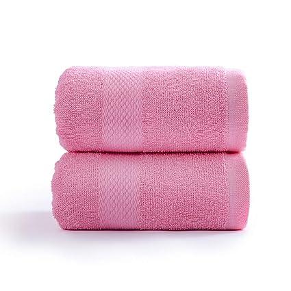 Super Soft and Absorbent SOFTOWN Microfiber Bath Towel Blue Set of 4 27x54