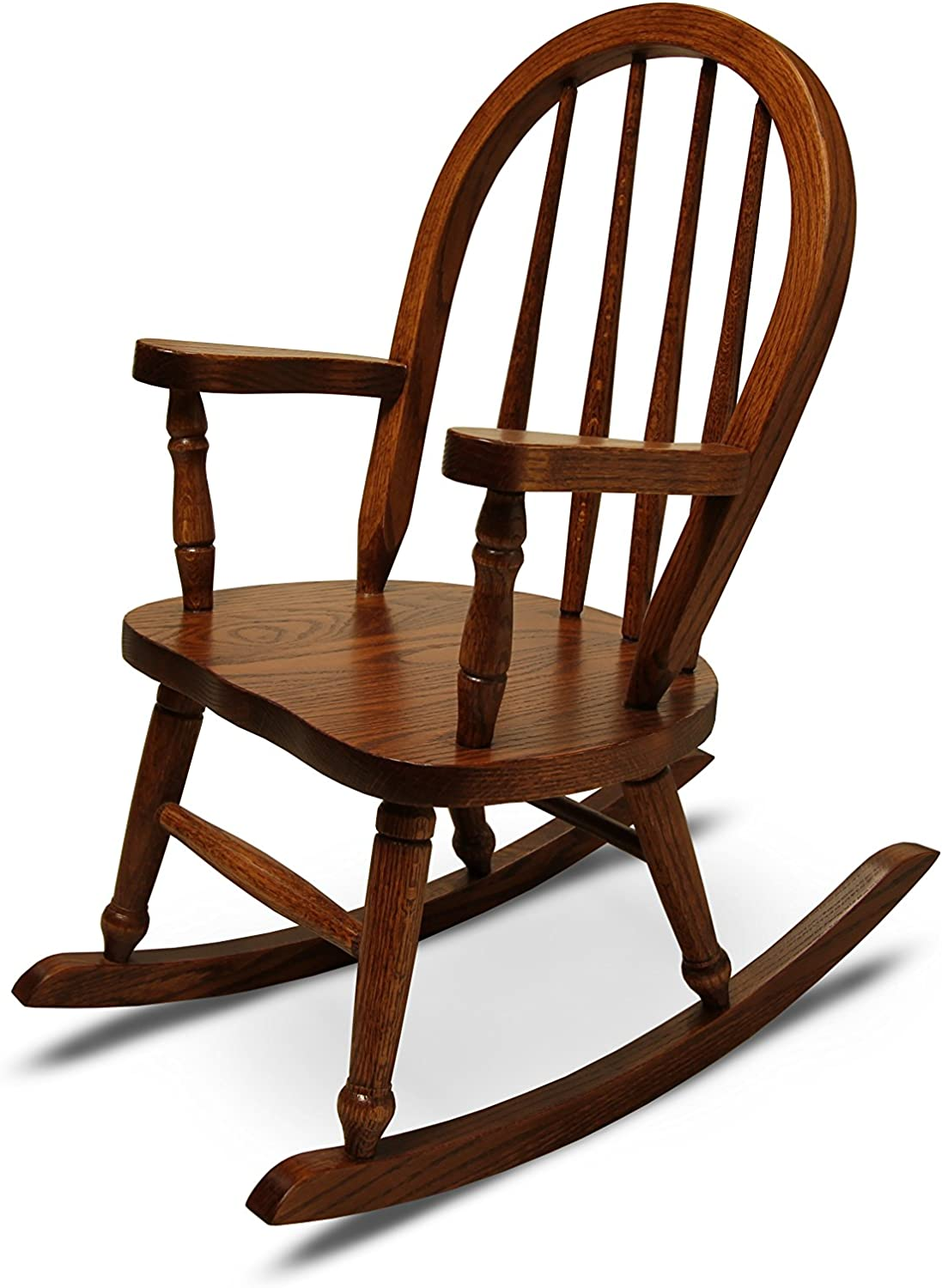 Weaver Craft Child's Rocking Chair Amish Made (Michaels Stain) - Fully Assembled