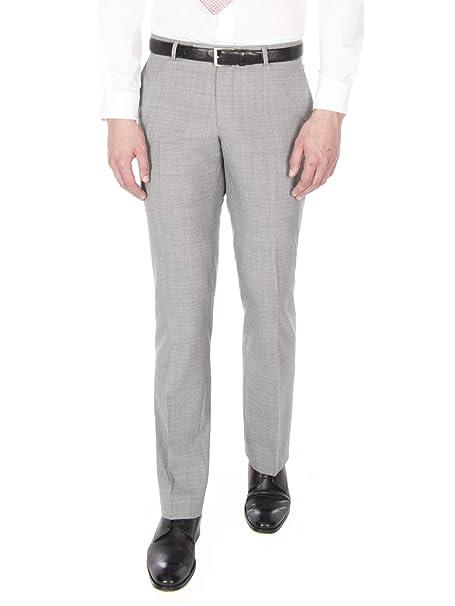 Racing Green - Pantalón de traje - para hombre gris gris claro 102 ...