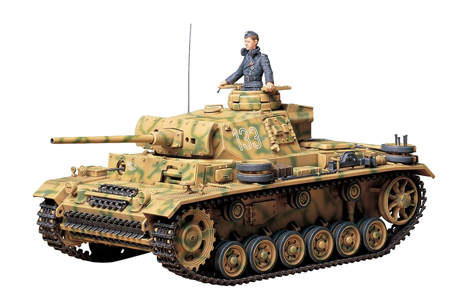 Tamiya 300035215 – 1:35 WWII German battle tank III design L (1) TM35215