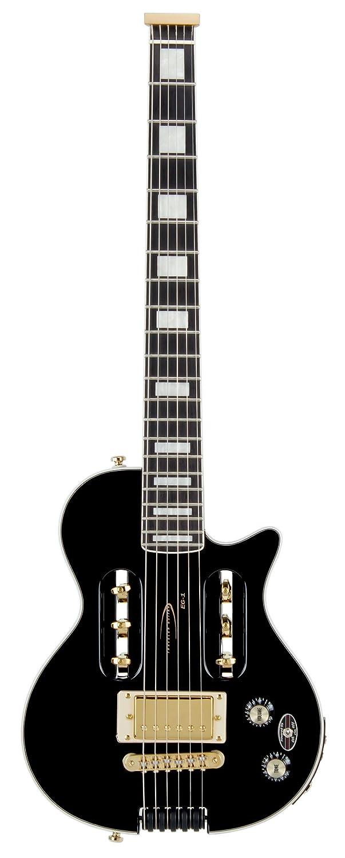 Traveler Guitar Eg-1 Custom Guitarra eléctrica de viaje con funda (Negro): Amazon.es: Instrumentos musicales