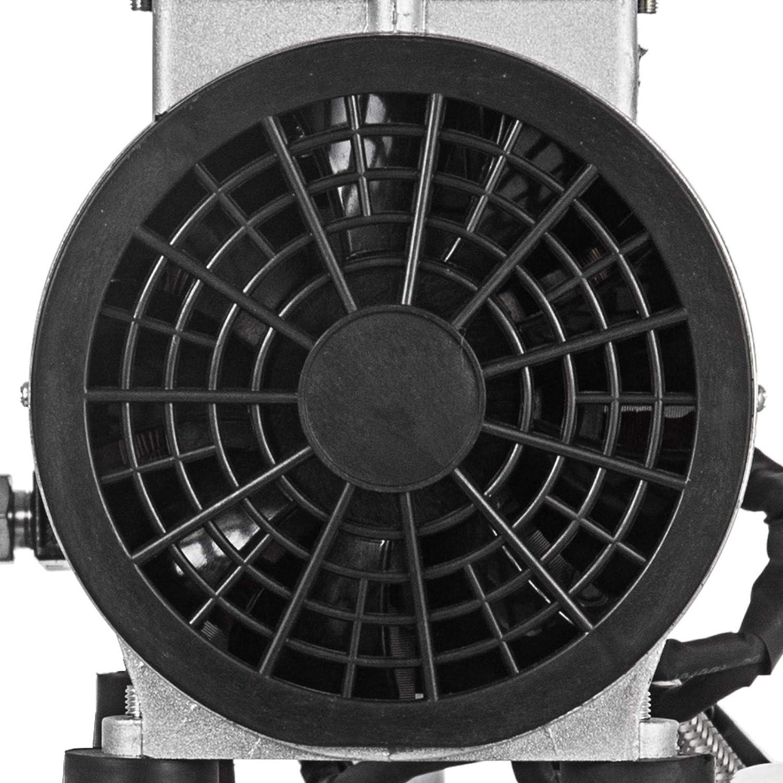 GIOEVO Compressore daria Senza Olio Compressore daria Silenzioso 750 W Compressore daria silenzioso Senza Olio 5,5 galloni 25L