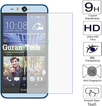 Guran® Protector de Pantalla Vidrio Cristal Templado Para HTC ...