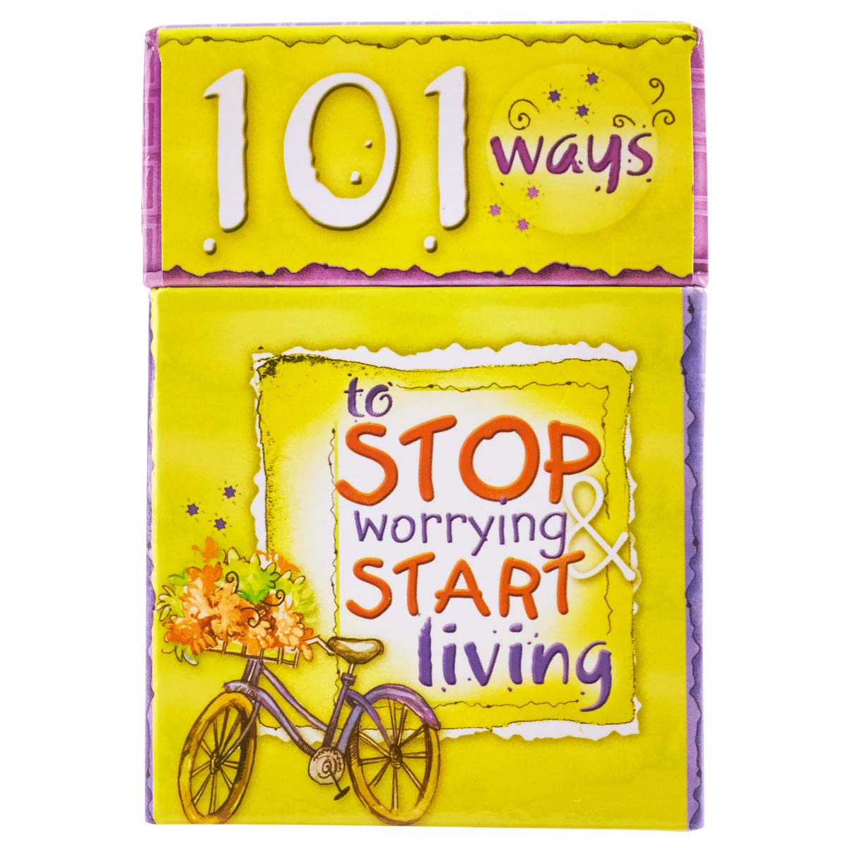 101 Ways to Stop Worrying & Start Living Cards - A Box of Blessings:  Christian Art Gfits: 6006937062863: Amazon.com: Books