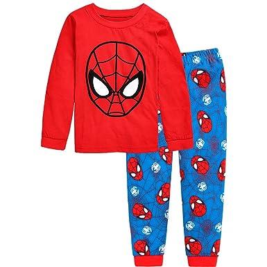 7e86b95189ad0 Amazon.com: Boys Pajama Avengers Superhero Iron Man Hulk Captain ...