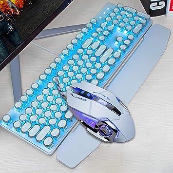 ALIZJJ Teclado y mouse Combo teclado y mouse teclado de ...