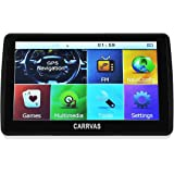 "CARRVAS 7 ""inch 8GB Sat Nav Navigation Gps Truck Car Traffic Satellite Navigation System Latest UK and Europe Map POI Speed Camera Alarm"