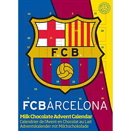 5ae91369408fd1 Adventskalender FC Barcelona Fan Adventskalender