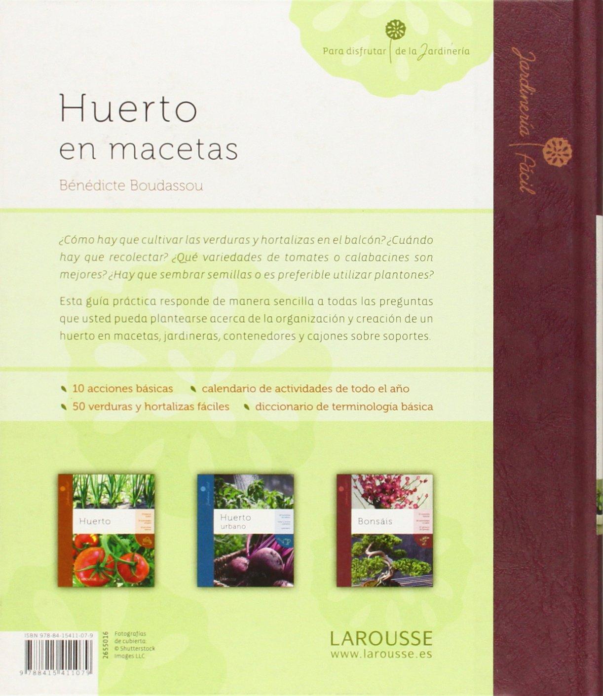 Huerto en macetas Larousse - Libros Ilustrados/ Prácticos - Ocio Y ...