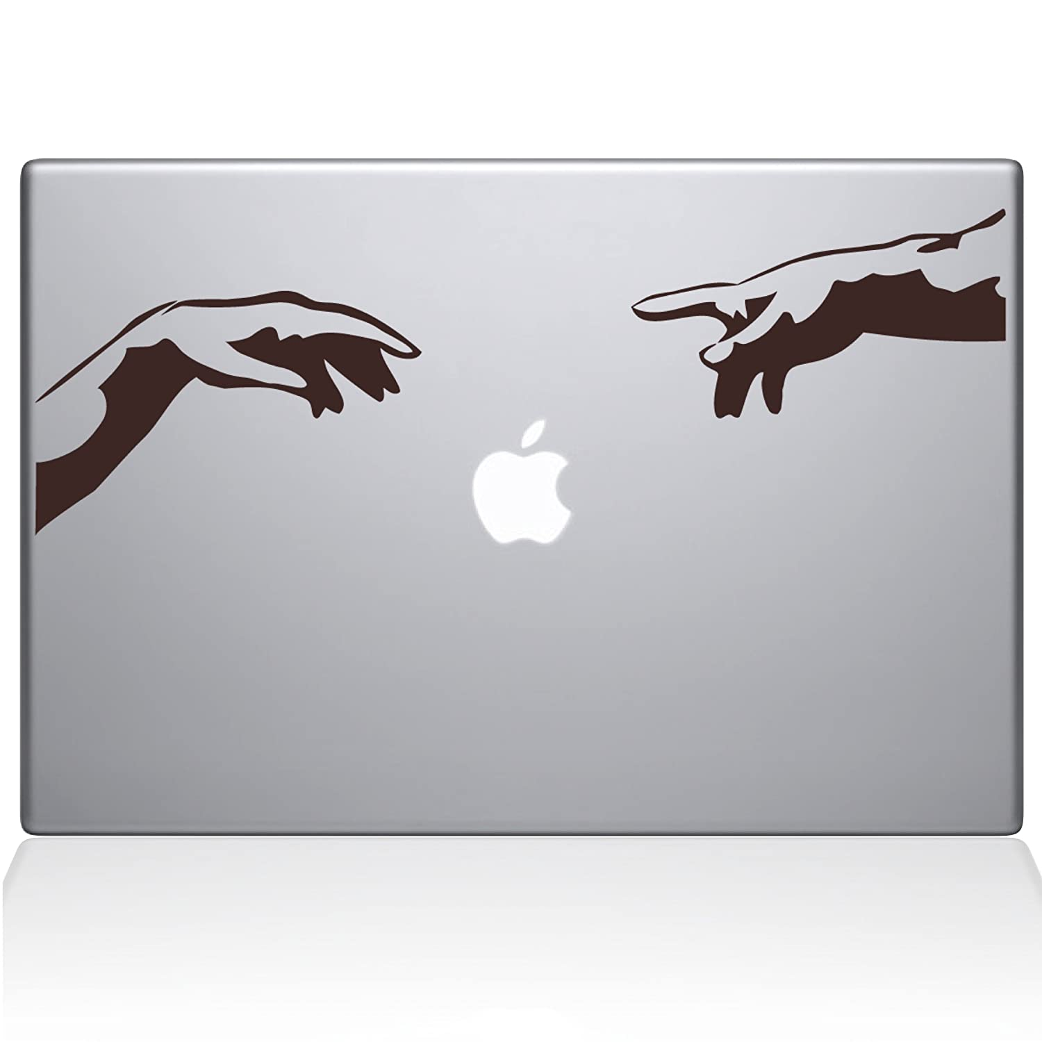 The Decal Guru Creation Apple MacBook Decal Vinyl Sticker - 12' MacBook - Brown (1044-MAC-12M-BRO) The Decal Guru -- Dropship