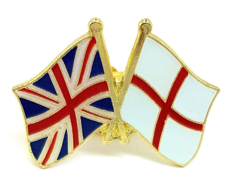 Union Jack Pin Badge UK GB United Kingdom England Great Britain Metal Flag