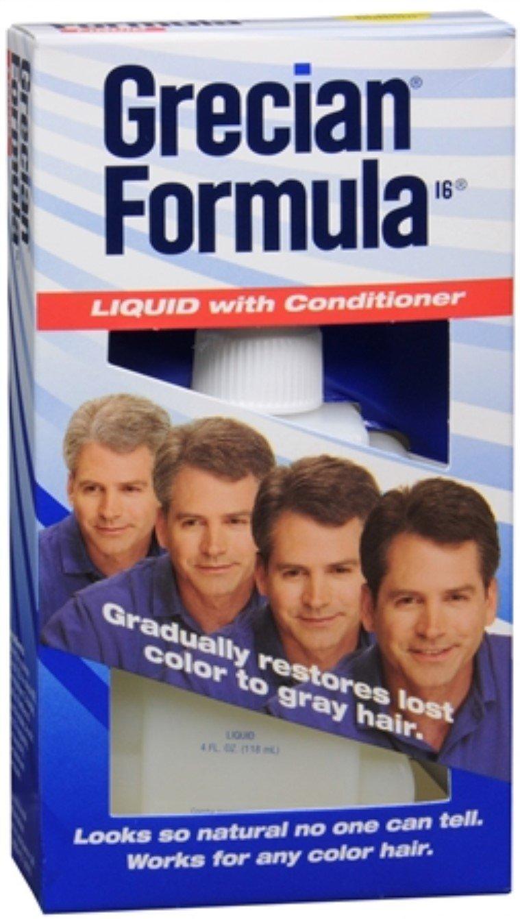 Grecian Formula Size 4z Grecian Formula Liquid Color Restoration With Conditioner