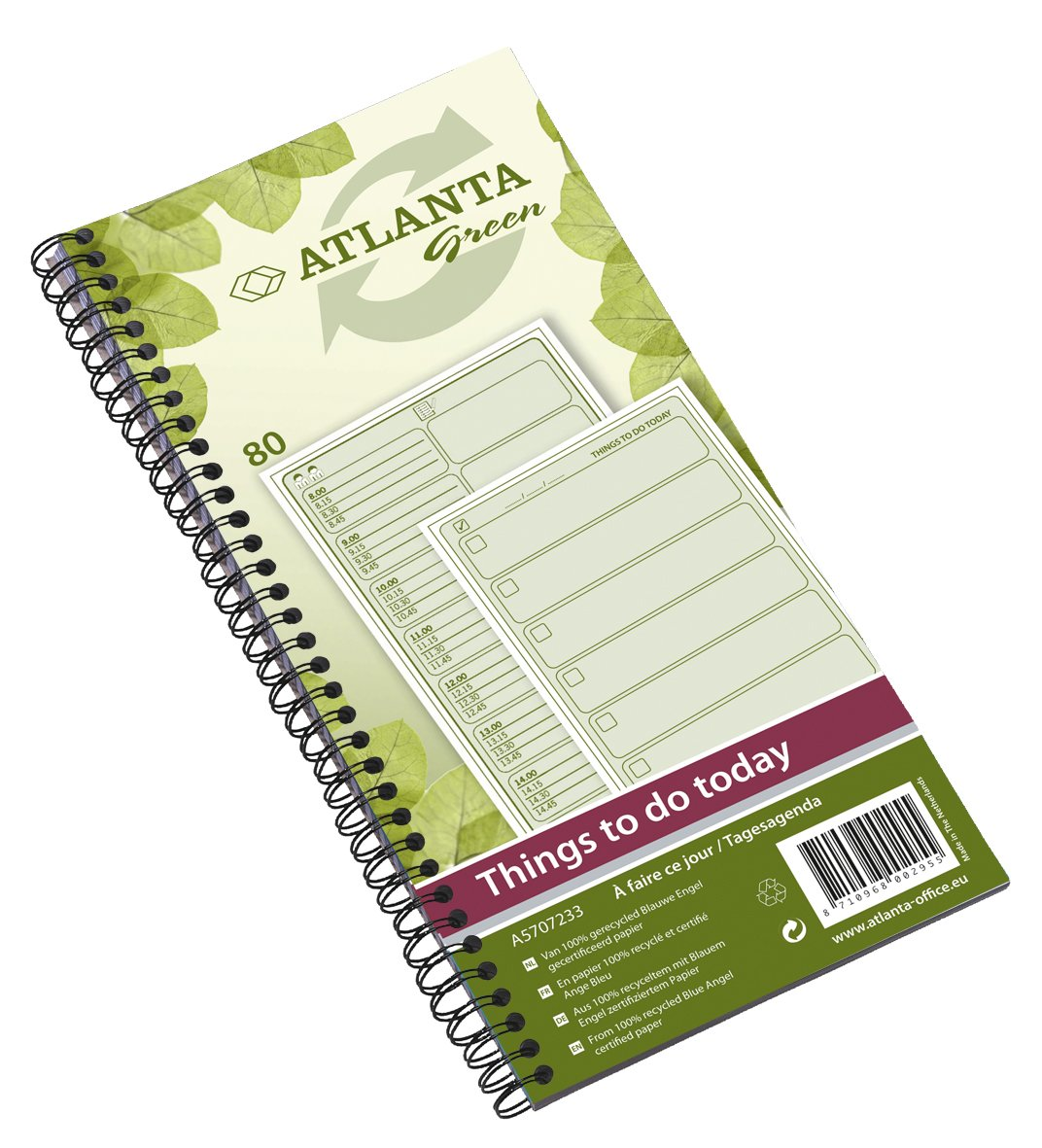 Amazon.com: Jalema 2570723300 Atlanta Green - Archivador de ...