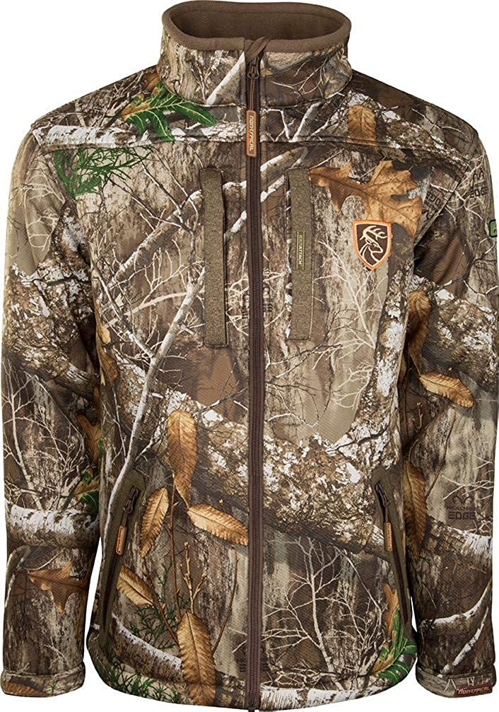 Image of Baby Drake Non-Typical Men's Silencer Full Zip Scent Control Jacket Polyester