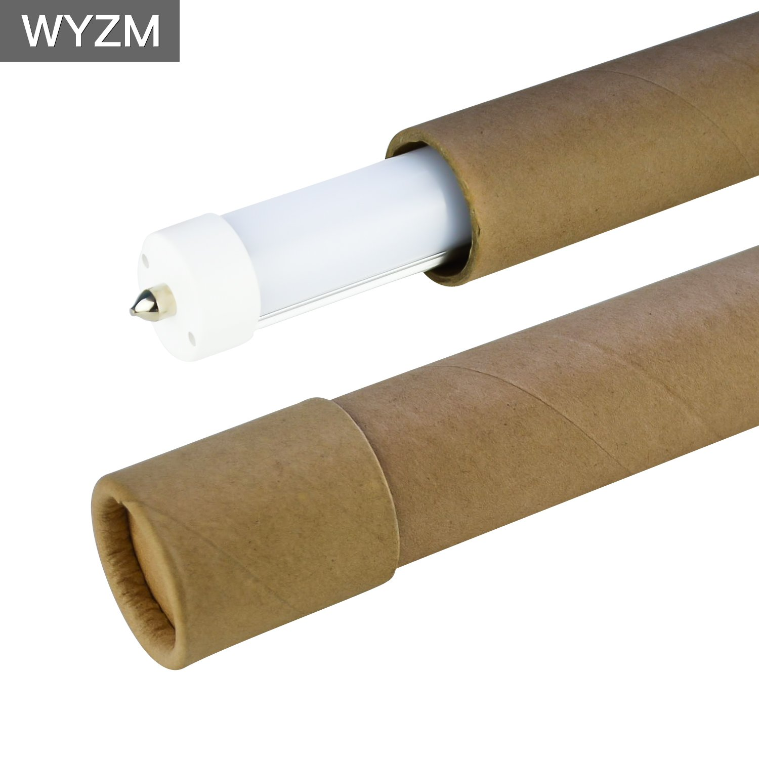 8ft LED Light Tubes for Fluorescent Fixtures,96'' F96T12 LED Tube,Replacement,120V and 277V Input, 5500K Daylight White,40Watt 4000LM Super Bright (4PCS 5500K Daylight White) by WYZM (Image #6)