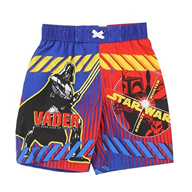 597fda346f Amazon.com: Dreamwave Star Wars Little Boys' Toddler Swim Trunks ...