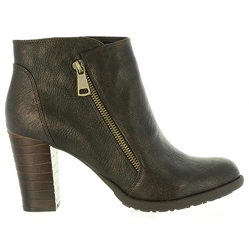Botines de Mujer MARIA MARE 61358 C29314 Chocolate: Amazon.es: Zapatos y complementos