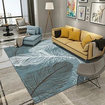 Amazonde Kevin Bin Einfache Moderne Feder Schlafzimmer Teppich