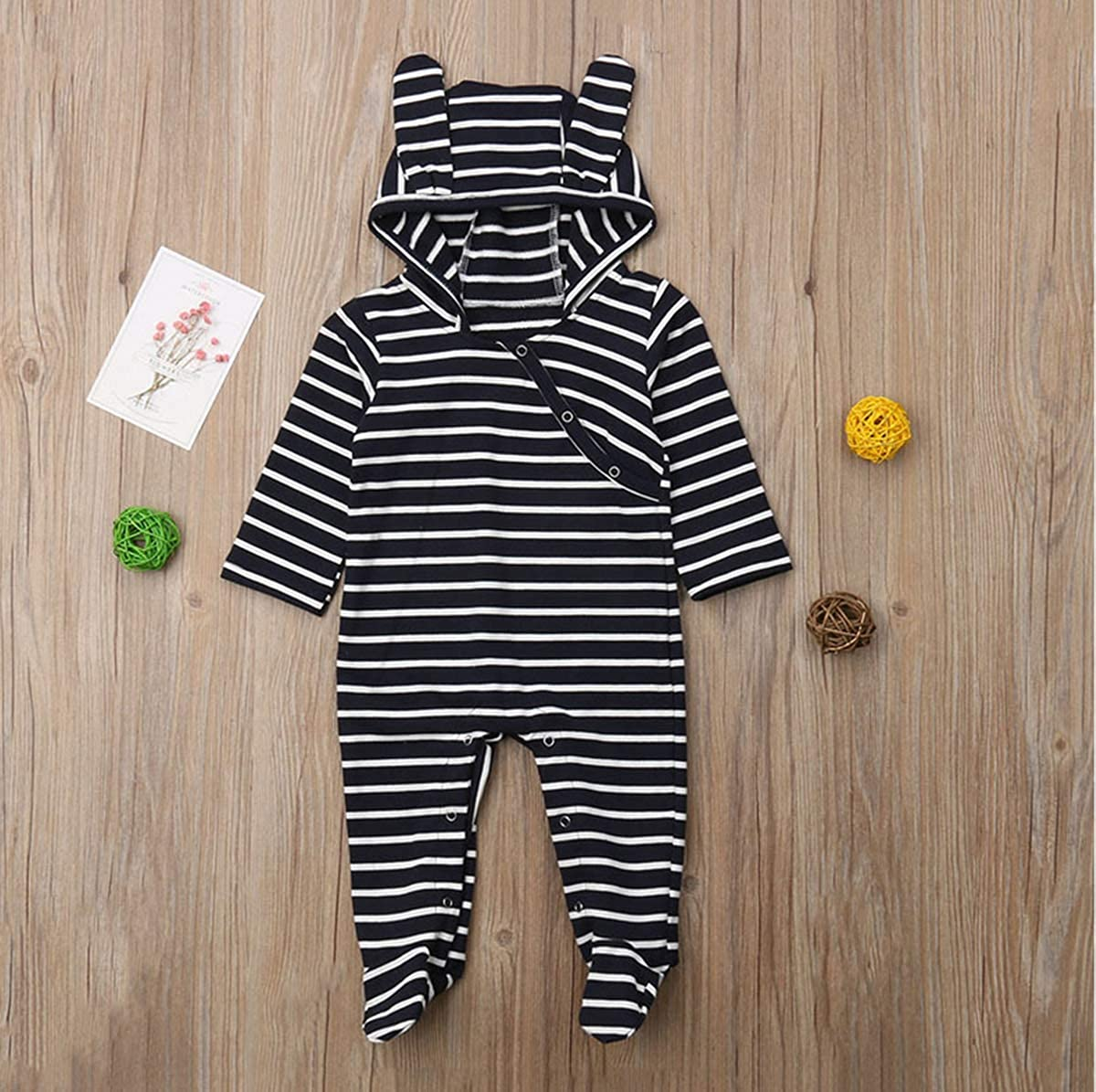 iBccly Baby Girls Boys Kids Sleep and Play Organic Pajamas Set One-Piece Footed Overall Jumpsuit//Coveralls