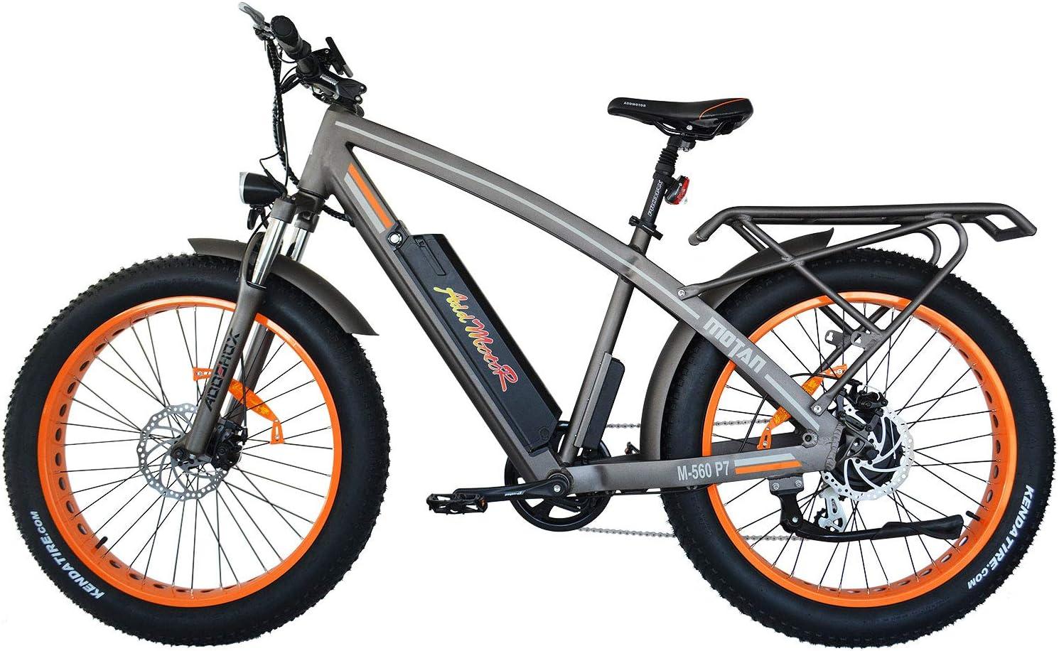 Addmotor Fat Tire 26 Inch 750W Power Electric Mountain Bike