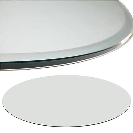 Verschiedene Gr/ö/ßen perfekt geeignet als Funkenschutzplatte 80x80cm, Klarglas Euro Tische Glasplatte f/ür Kaminofen Glasscheibe mit 6mm ESG Sicherheitsglas