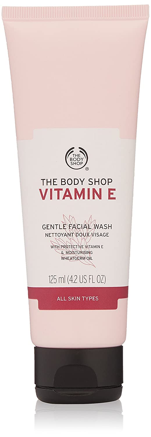 The Body Shop Vitamin E Facial Wash, 125ml
