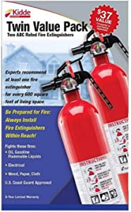 Kidde Multi-Purpose Fire Extinguisher, 2 pk.