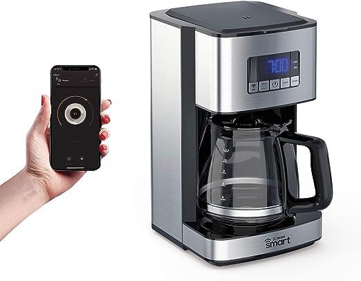 Amazon.com: Atomi - Cafetera inteligente WiFi de 12 tazas ...