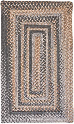 "Colonial Mills Gloucester Gray Runner 2'0""x12'0"" Braided Area Rug"