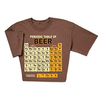 computergear funny beer t shirt periodic table chemistry geek nerd tee s