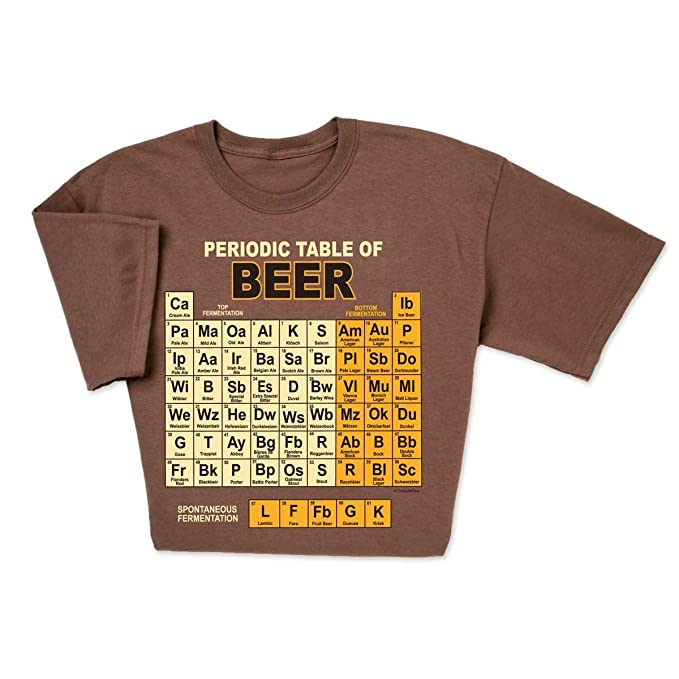 Remarkable Computergear Funny Beer T Shirt Periodic Table Chemistry Geek Nerd Unisex Tee Home Interior And Landscaping Ferensignezvosmurscom