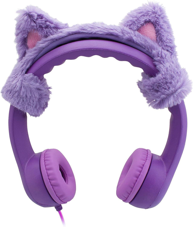 Cat Ear Auriculares de Diadema con Cable para niños,límite de ...