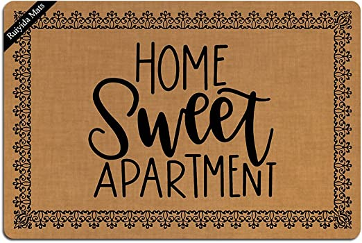Amazon.com: Alfombrillas Ruiyida Home Sweet apartamento ...