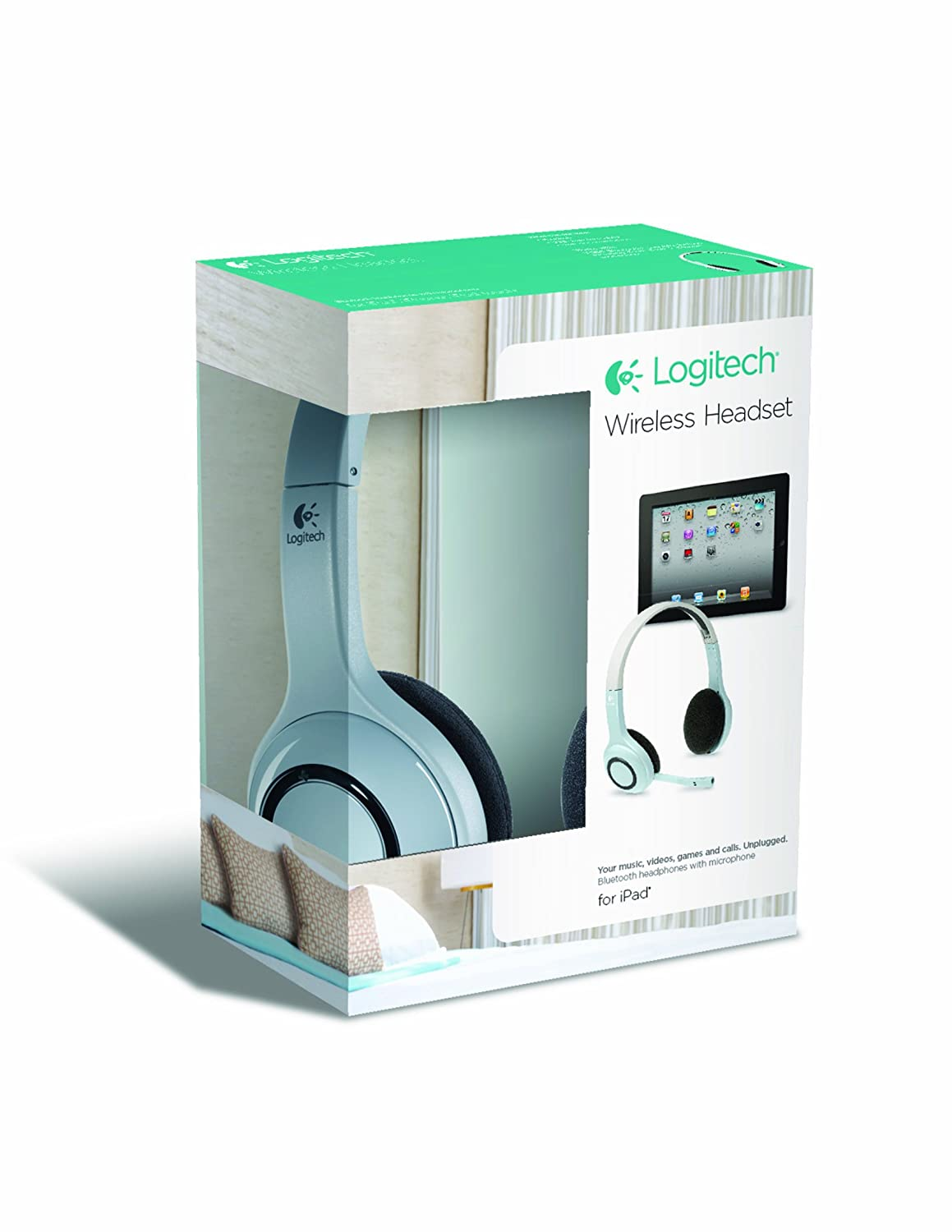 Amazon.com: Logitech Wireless Headset for iPad, iPhone and iPod ...