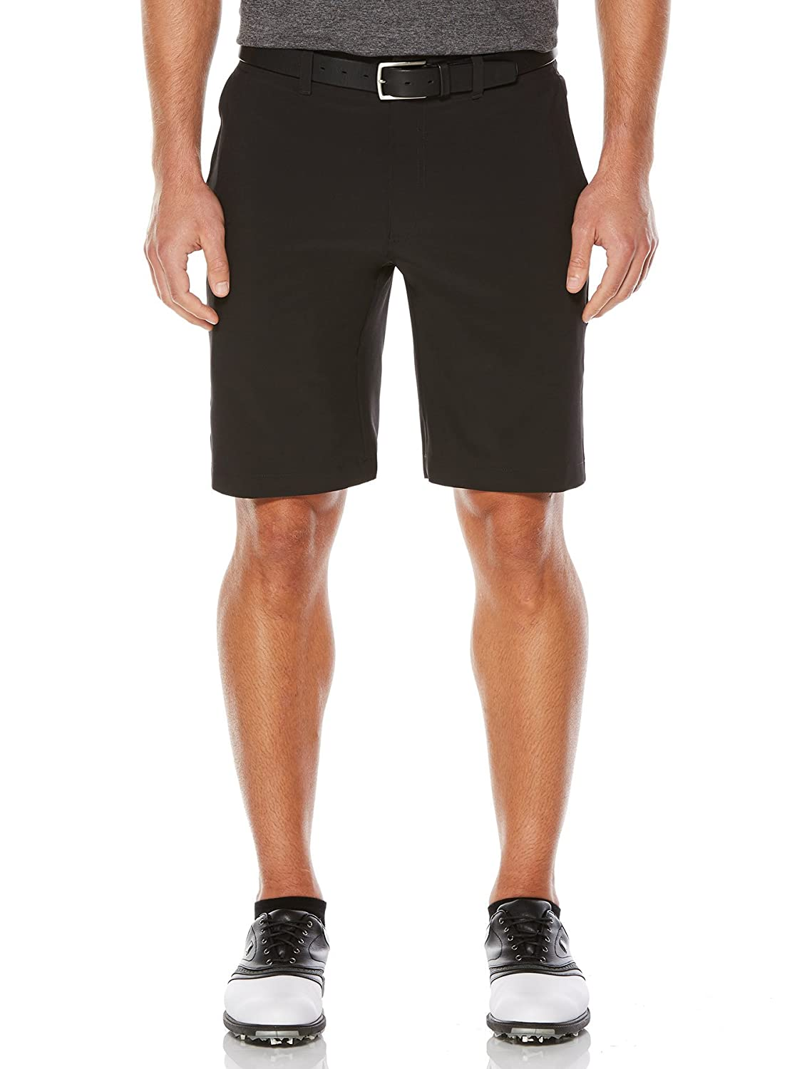 Callaway Herren Leicht Tech Shorts mit Aktiv Bund, herren, Lightweight Stretch Solid Short With Active Waistband, Caviar, 44