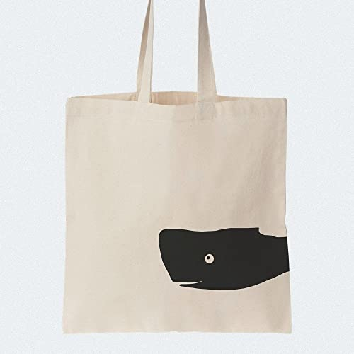 ffe7ca7ff9546e Image Unavailable. Image not available for. Colour: Cotton tote bag Whale