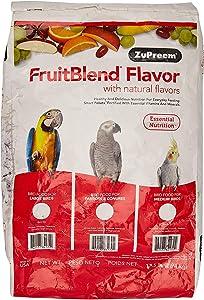 Zupreem 230335 Fruitblend Large Parrot Food, 17.5-Pound