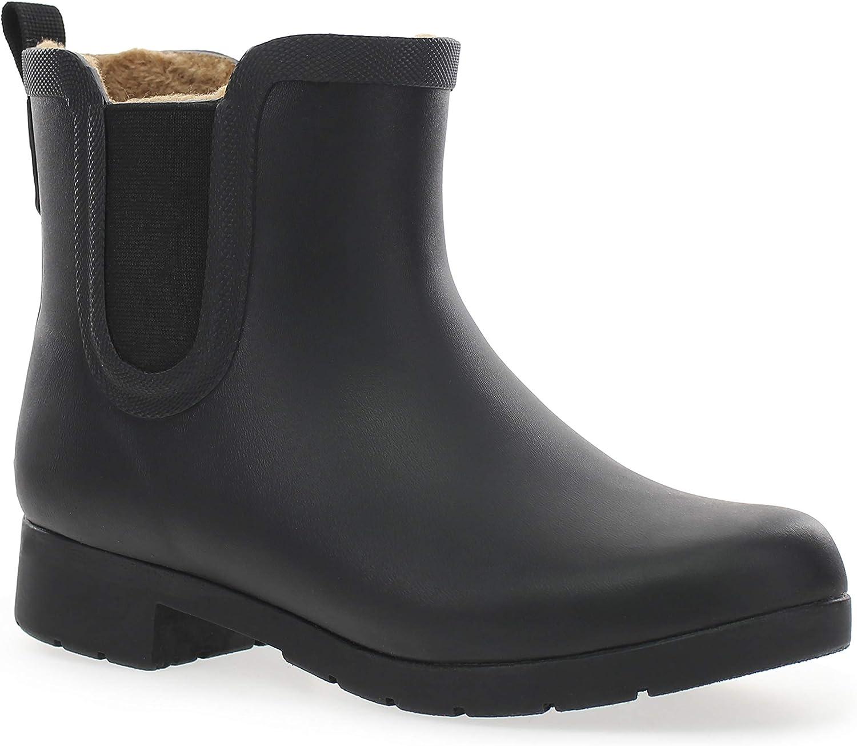 Chooka Women's Waterproof Plush Chelsea Bootie Boot