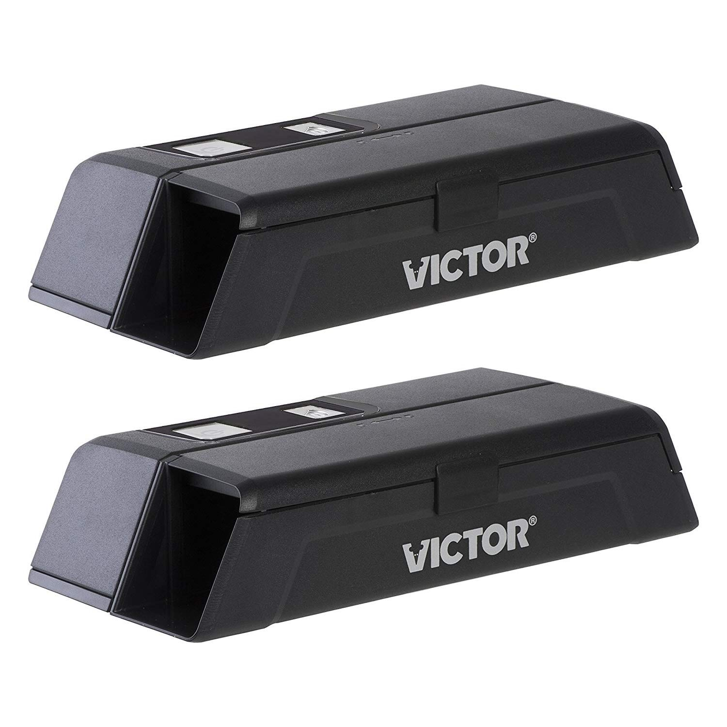 Victor M1-2P M1 Smart-Kill Wi-Fi Electronic Mouse Trap-2 Pack, Black by Victor