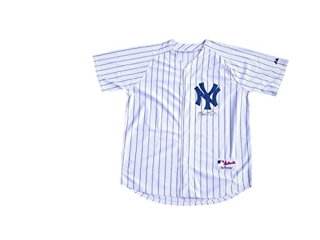 lowest price a1630 0c858 Autographed Mark Teixeira Jersey - Pinstrip - JSA Certified ...