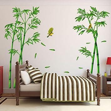 Agreable SOMESUN 3D Stickers Muraux Forêt De Bambous DIY Amovible Autocollant Mural  Autocollant De Papier Mural